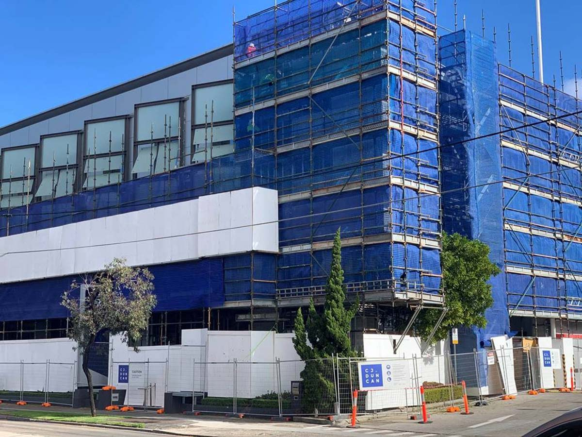 Flammable Cladding Project Update for Sydney Corporate Park, Alexandria